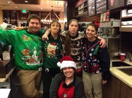 starbucks black friday black friday u003dugly christmas sweater party starbucks