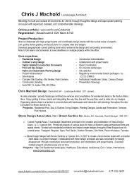Resume Landscape Architect Resume And Project List By Chris J Machold At Coroflot Com