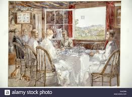 Colonial Dining Room Breakfast Alpha Colonial Dining Room Water Colour By Harriet