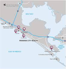 Panama City Beach Map Vax Vacationaccess Destination Detail