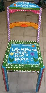 56 best my painted chairs images on pinterest painted chairs