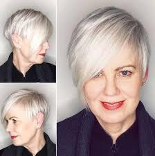 short haircuts for older women look stylish hairiz