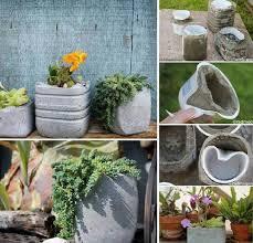 diy planters how to make concrete planters creative diy project so creative