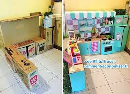 faire une cuisine pour enfant comment faire une mini cuisine en cartons pour votre bambin