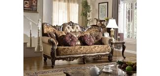 traditional sofas with wood trim wood trim classic living room set 610