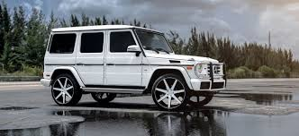 wrapped g wagon g550 on niche wheels exclusive motoring miami exclusive