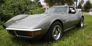 1972 corvette lt1 city gray 1972 chevrolet corvette coupe lt1
