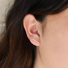 bar earrings satomi kawakita diamond bar earrings at general store