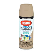 krylon fusion 12oz spray paint satin khaki k02438001 spray