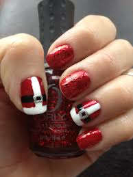 santa suit nail art santa suit nails pinterest nail art