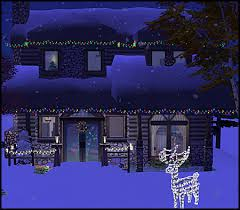 sims 3 holiday lights mod the sims christmas cabin