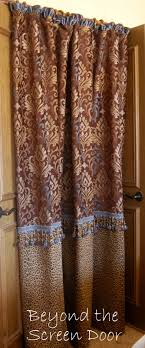 Custom Shower Curtains A Custom Shower Curtain For Robin Sonya Hamilton Designs