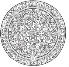 advanced mandala coloring pages printable az coloring pages
