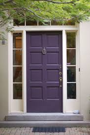 House Doors Exterior by Best 25 Purple Front Doors Ideas On Pinterest Purple Door
