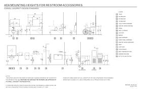 house specs ada paper towel holder height ada compliance paper