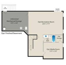 walkout basement floor plans 16 basement floor plans floor and furniture