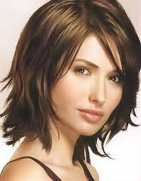 haircuts with bangs for middle age women medium length hairstyles with bangs many many times you cut or