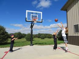 Best Backyard Basketball Court by Best Basketball Hoops Portable And In Ground Basketball Hoops