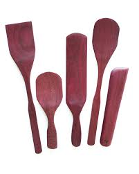 Red Kitchen Utensil Set - exotic 5 piece kitchen utensil set bowood co