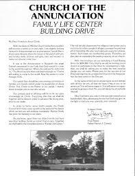 our history annunciation catholic church