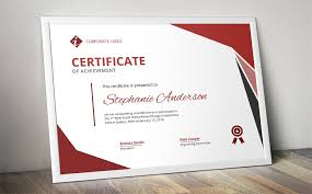 modern ms word certificate design stationery templates