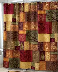 Rustic Shower Curtains Adirondack Pine Shower Curtain