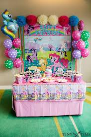 birthday party ideas my pony birthday party ideas dessert table pony and birthdays