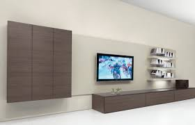 Lcd Tv Wall Mount Stand Living Room Charming White Modern Plywood Living Room Wall Mount
