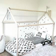 Single Frame Beds House Bed Mini Maison Nursery Decor