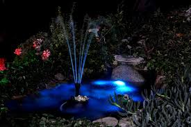 Lighting In Landscape For Underwater Lighting Ponds And Fountains