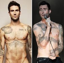 adam levine s sexiest shirtless pics photos