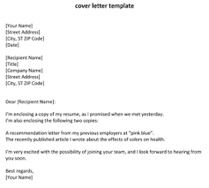 Simple Resume Cover Letter Examples by Cover How Letter Resume To Write