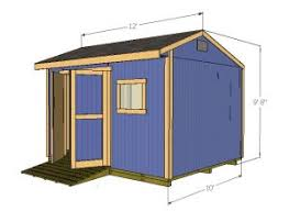 Plans For Building A Firewood Shed by 12x10 Saltbox Shed Plans