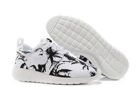 nike shoes black friday sales for nice nike roshe run pattern womens palm trees black white
