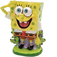 penn plax spongebob squarepants aquatic ornament petco