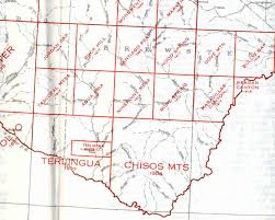 where is terlingua on a map historic maps terlingua city limits