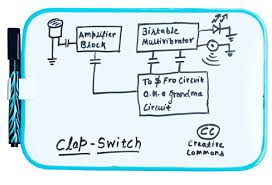 clap to turn off lights clap switch simple illustrated you can build it