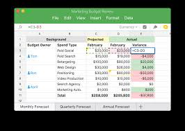 How To Set Up A Budget Spreadsheet by Quip Quip Spreadsheets For Teams More Human More Social More