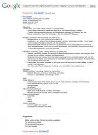Google Resume Creator by Blog Project Prompts Technical Communication Fall 2014 Page 8