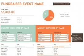 Non Profit Budget Template Excel Fundraising Budget Template Excel Templates