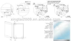 patch fitting glass door top door rail bottom door rail lock patch fitting yg 060a yg 060b