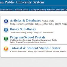 online tutorial library american public university system online library tutorial center