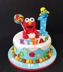 elmo birthday cakes elmo cake and cookies for ethan s 1st birthday description from