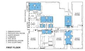 facility floor plan san francisco meeting facilities floor plans