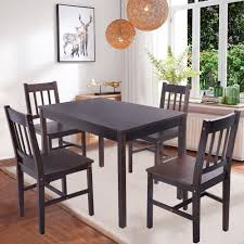 ebay dining table and 4 chairs 4 dining room chairs new solid wooden pine dining table and 4 chairs