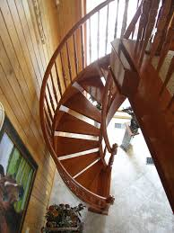 stair cozy picture of antique pine wood freestanding spiral