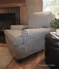 Charcoal Slipcover Wingback Chair Slipcovers White Living Rooms Pinterest Chair