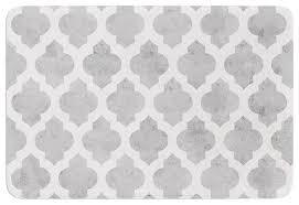 sheepskin bath mat gray and white bath rug roselawnlutheran