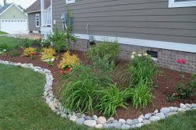 stone landscape edging ideas very easy landscape edging ideas