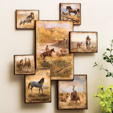 Picture Wall Collage by Wild West Horse Wall Collage